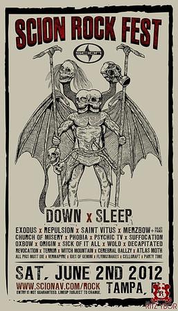 Scion Rock Fest June 2, 2012
