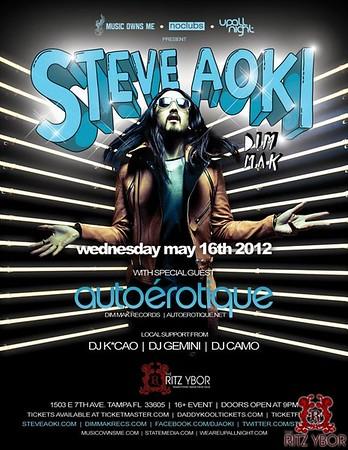 Steve Aoki & Autoerotique May 16, 2012