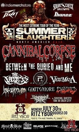 Summer Slaughter Tour July 30, 2012