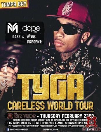 "TYGA ""Careless World Tour"" February 23, 2012"