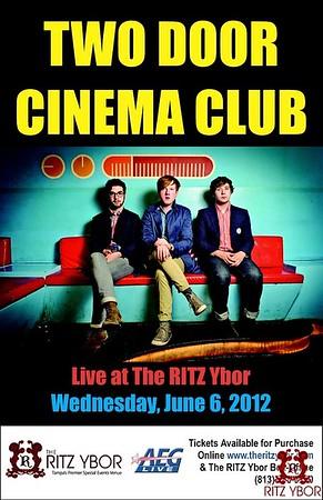 Two Door Cinema Club June 6, 2012