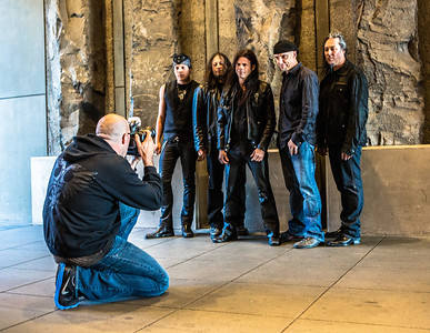 Captured during the first promo shoot ever for Rising West / Queensryche 2.0