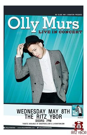 Olly Murs May 8, 2013