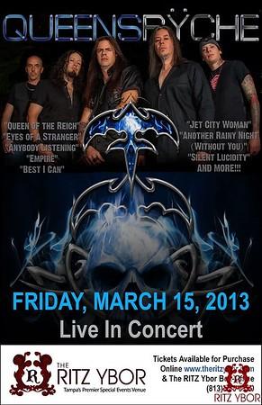 Queensrÿche March 15, 2013