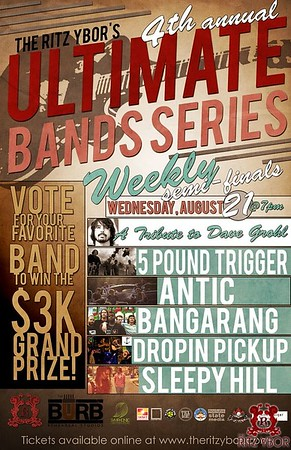 Ultimate Bands Series 2013: Week 1 (08.21.13)