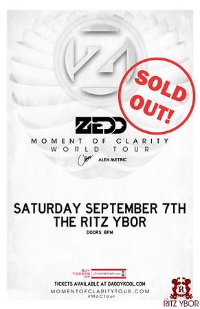 Zedd September 7, 2013