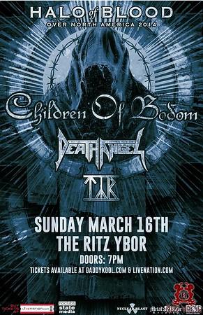 Children of Bodom Sunday, March 16, 2014