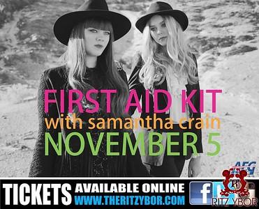 First Aid Kit with Samantha Crain