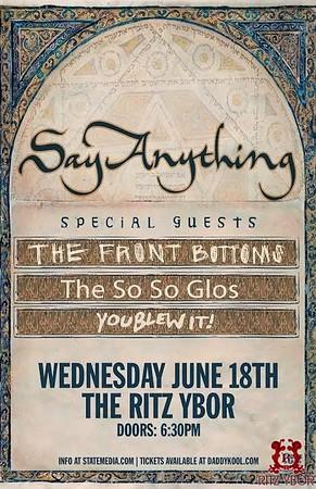 Say Anything June 18, 2014