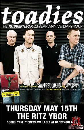 The Toadies: The Rubberneck 20th Anniversary Tour w/The Supersuckers & Battleme