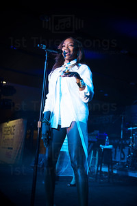 Estelle performs in the Essence Superlounge during the 20th Essence Musical Festival in the Mercedes Benz Superdome, New Orleans Louisiana on Friday, July 4, 2014. (Photo by j.vince photography)