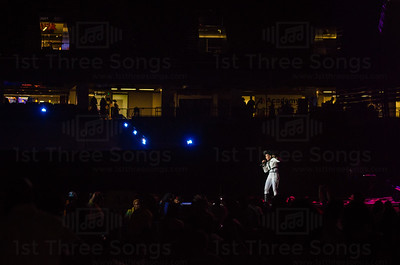 Janelle Monae performs on the Main Stage during the 20th Essence Musical Festival on Friday, July 4, 2014 in the Mercedes Benz Superdome, New Orleans Louisiana