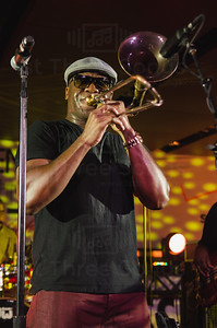 Big Sam's Funky Nation performs in the Verizon Superlounge at the 20th Essence Musical Festival, Saturday, July 5, 2014 - Mercedes Benz Superdome, New Orleans Louisiana (photo by j.vince photography)