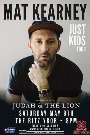 Mat Kearney Just Kids Tour