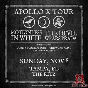 Motionless in White & The Devil Wears Prada