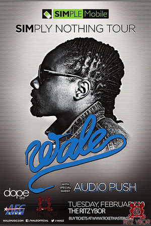 Wale Simply Nothing Tour