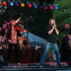 June 12, 2015 Rick Hill, South Carolina  A great crowd rocking it out to Kansas at the Old Town Amphitheatre.