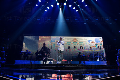 Trey Songz performs on the Main Stage at the 21st Annual Essence Music Festival at the Mercedes-Benz Super Dome on Thursday, July 2, 2015 in New Orleans Louisiana