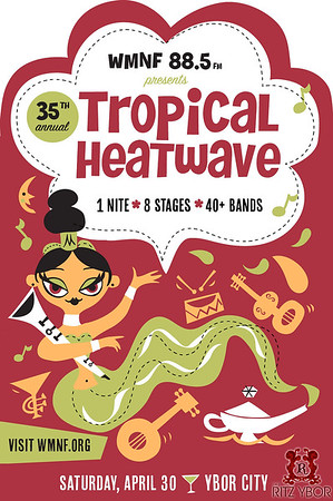 2016 WMNF Tropical Heatwave: The Ritz Stage