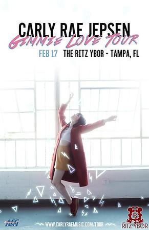 Carly Rae Jepsen Gimmie Love Tour