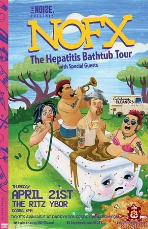 NOFX: The Hepatitis Bathtub Tour