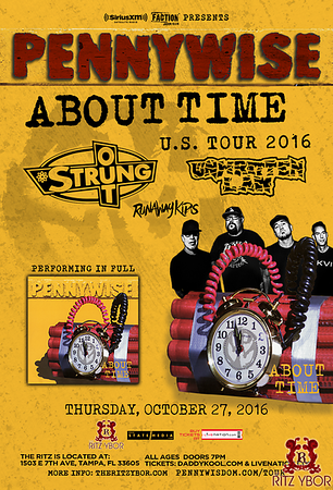 Pennywise- About Time Tour