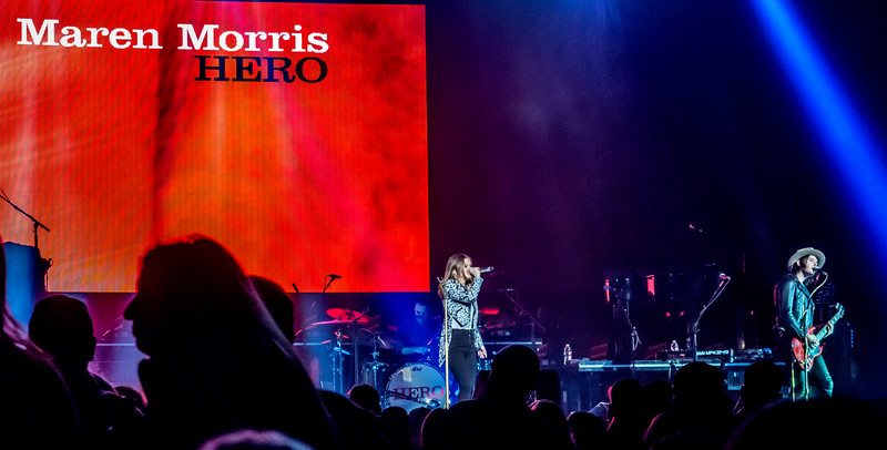 Maren Morris w/ Keith Urban at iWireless