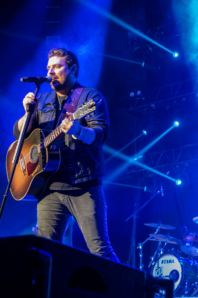 Chris Young, Cassadee Pope & Dustin Lynch at the iWireless