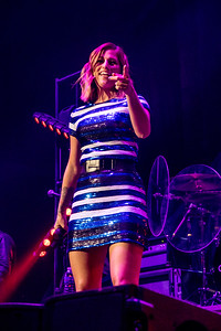 Cassadee Pope (w/ Chris Young & Dustin Lynch) at the iWireless