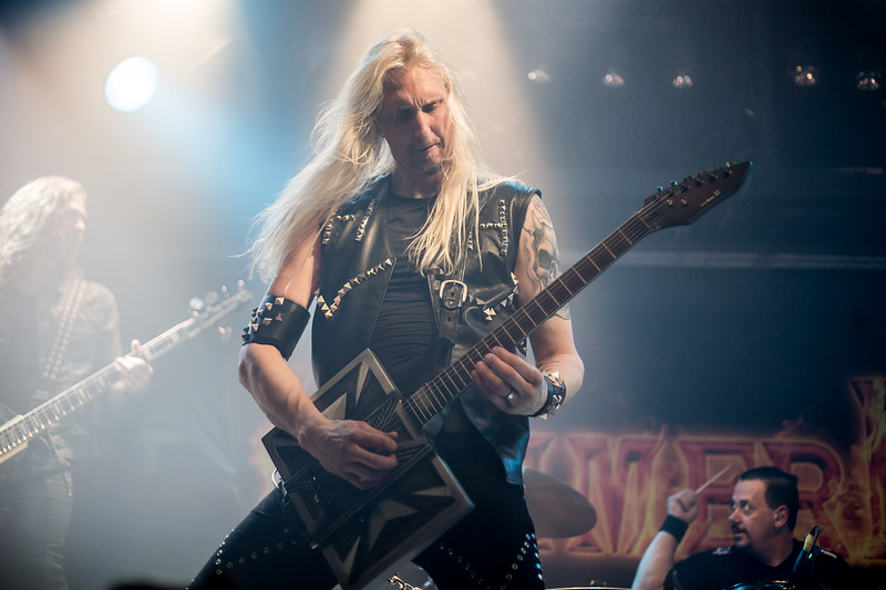 Hammerfall @ Foufounes Electriques Photos: Thomas Courtois for Thorium Magazine