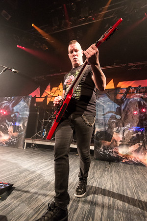 Annihilator @ Café Campus Photos: Thomas Courtois for Thorium Magazine