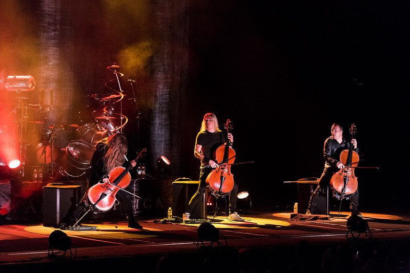 Apocalyptica @ Théâtre St-Denis Photos: Thomas Courtois for Thorium Magazine