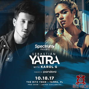 Spectrum presents Sebastian Yatra w/ Karol G powered by Pandora