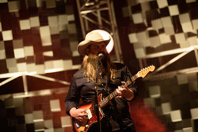 Chris Stapleton Performs at Cynthia Wood Mitchell Pavillion on Friday October 27, 2017. Photo by Jamaal Ellis - j.vince photogaphy/1st Three Songs