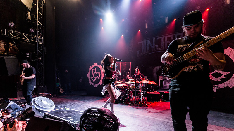 Jinjer @ Theatre Corona Photos: Thomas Courtois for Thorium Magazine http://www.MetalHoratio.com