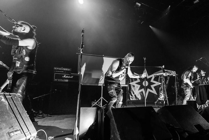 The God Bombs @ MTelus Photos: Thomas Courtois for Thorium Magazine http://www.MetalHoratio.com
