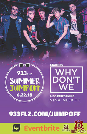 93.3 FLZ's Summer Jumpoff - Why Don't We w/ Nina Nesbitt