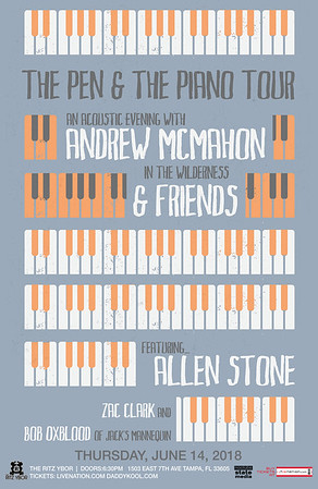 Andrew McMahon in the Wilderness & Friends