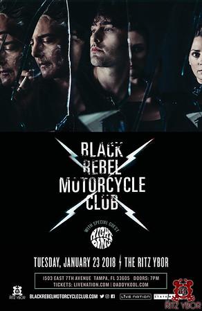 Black Rebel Motorcycle Club w/ Night Beats 01-23-2018