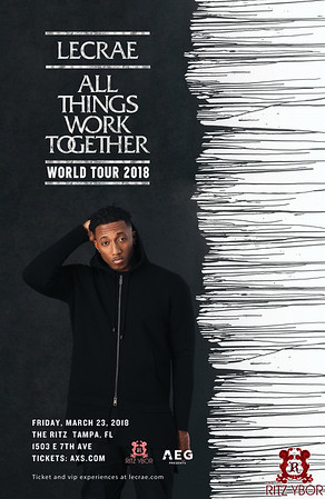 Lecrae - All Things Work Together World Tour 2018