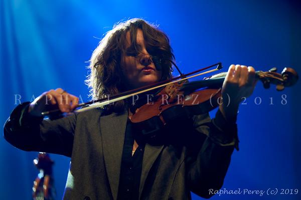 2019 TSF Jazz show in Salle Pleyel, Paris Fiona Monbet,  Violin