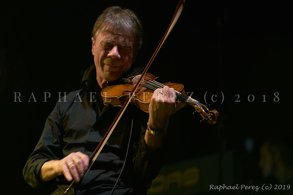2019 TSF Jazz show in Salle Pleyel, Paris Violin  Pierre Blanchard supporting Thomas Dutronc
