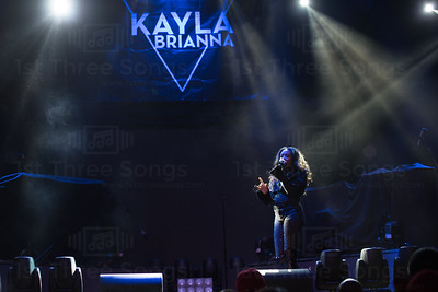 Kayla Brianna performs at the House of Blues in Las Vegas, Nevada on Tuesday, March 6, 2018. Photo by @jvincephoto