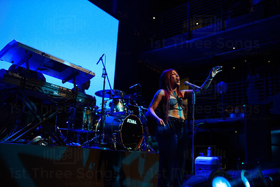Kayla Brianna performs at the Music Box in San Diego, California on Wednesday, March 7, 2018. Photo by @jvincephoto