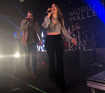 Morgan Wallen and Lacy Cavalier at Boondocks
