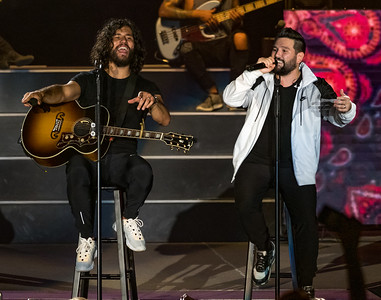 Dan and Shay at the Mississippi Valley Fair