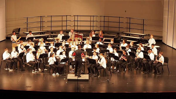 Sudlow Intermediate Fall 6th Grade Concert. 6th Grade Band. Zombie Stomp.