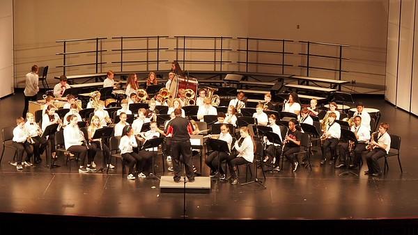 Sudlow Intermediate Fall 6th Grade Concert. 6th Grade Band. Happy.