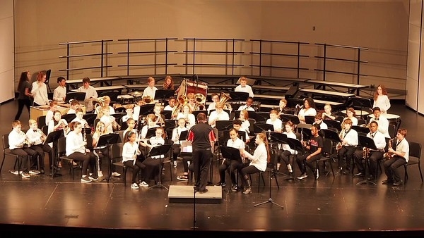 Sudlow Intermediate Fall 6th Grade Concert. 6th Grade Band. Procession for A New Day.