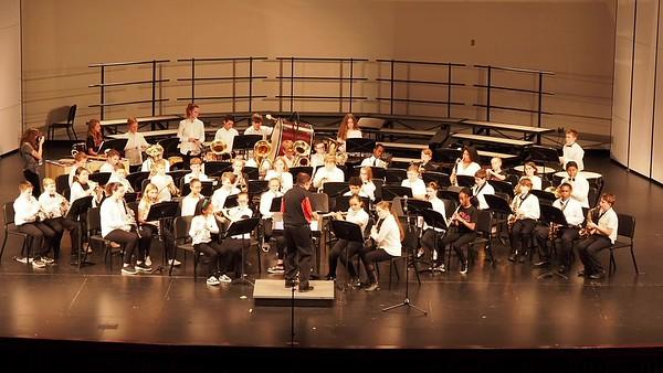 Sudlow Intermediate Fall 6th Grade Concert. 6th Grade Band. The Tempest.